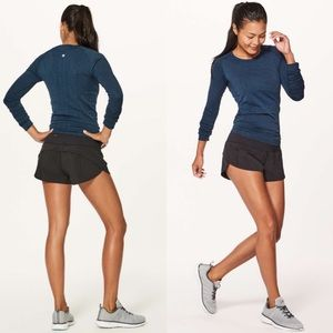 Lululemon Speed Up Shorts-Black